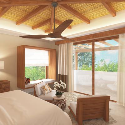 Dormitorio Casa Jungle Chic