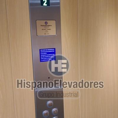 Panel de control o botonera Hispanoelevadores