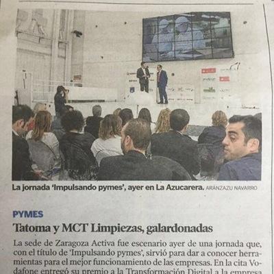 MCT LIMPIEZAS GALARDONADA