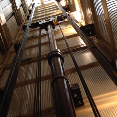 Hueco ascensor hidraúlico