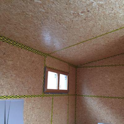 estructura entramado ligero casa pasiva