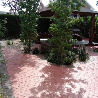Reforma exterior jardin