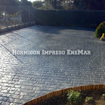 Hormigon impreso Madrid Enemar