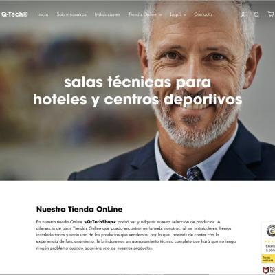 Salas Técnicas para hoteles y centros deportivos.