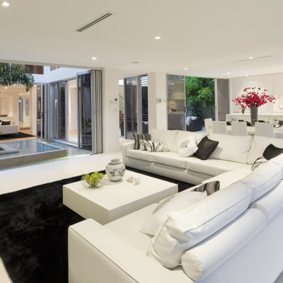 Blanco-patio