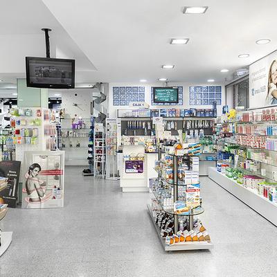 Reforma y merchandising Farmacia