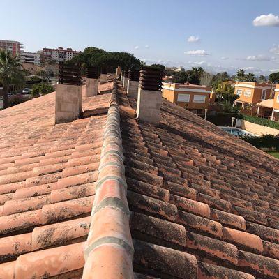 Arreglo en tejados