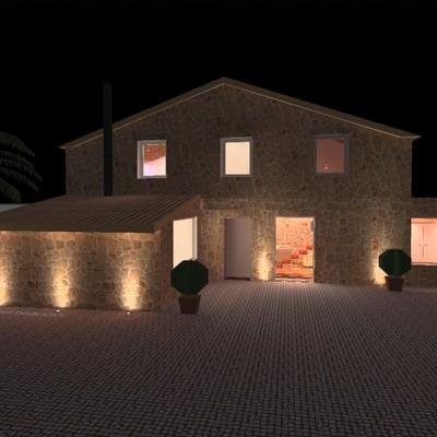 Diseño de iluminación para vivienda
