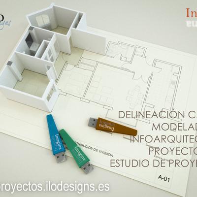 Servicios de delineación e infoarquitectura ILO Designs