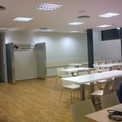 iluminacion cafeteria