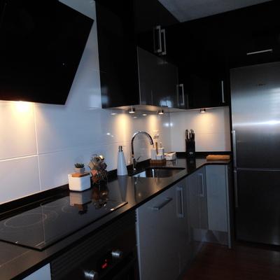 iluminación de la cocina
