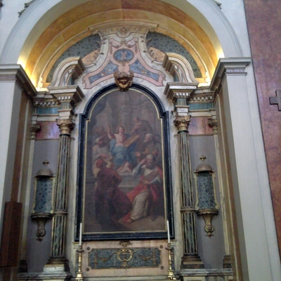 iluminacion LED iglesia