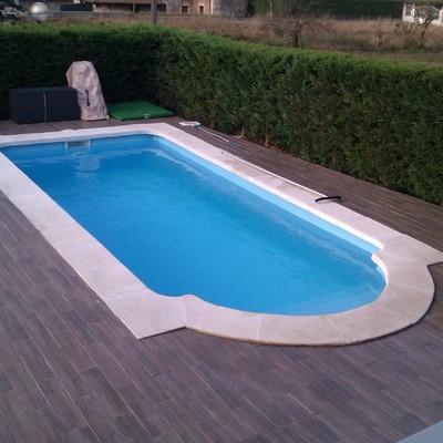 piscina Romana con agua salada