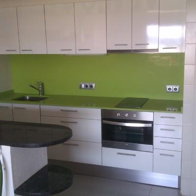 Cocina de apartamento