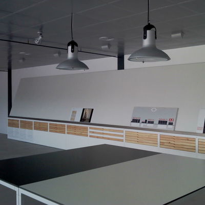 Reforma sala exposición fabrica cerámicas