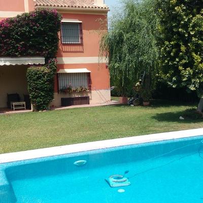 Mantenimiento jardín y piscina