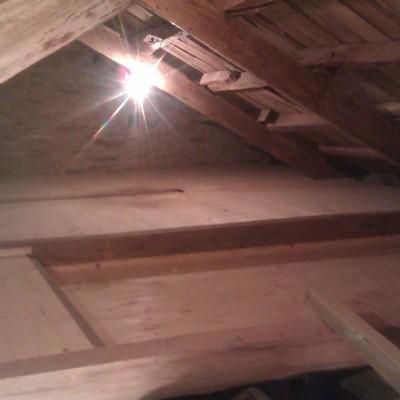 suelo de attico