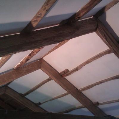 Falsa techo con islamiento y pladur