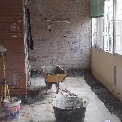reforma  ampliacion de vivienda para cocina