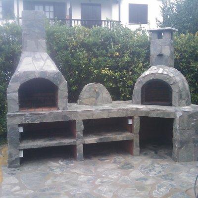 barbacoa y horno