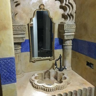 Lavabo estilo árabe