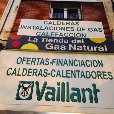 Escaparate de La Tienda del Gas Natural