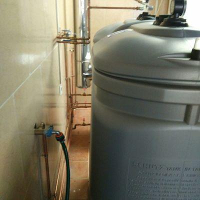 Instalacion calefacción completa tubería vista, con Caldera gasoil.