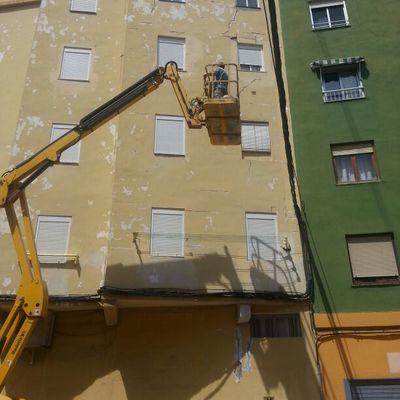 Rehabilitacion integral de fachadas.