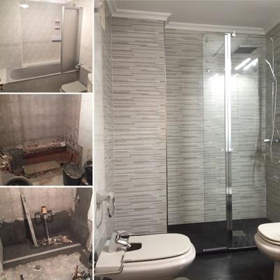 Sustitución bañera por plato de ducha en Narón