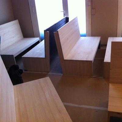Bancos de madera