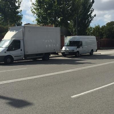 Camion y furgón
