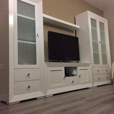 Mueble salón lacado