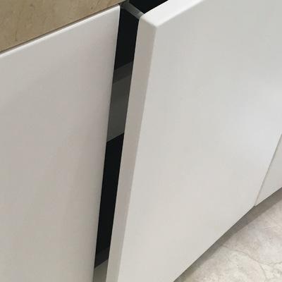 Mueble baño liso lacado 2