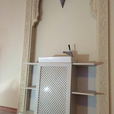 Mueble lavabo sala masaje