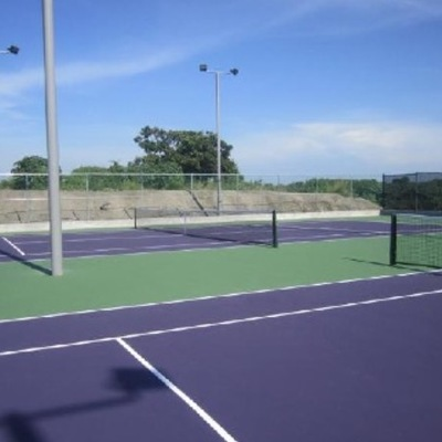 Pista de tenis, epoxi