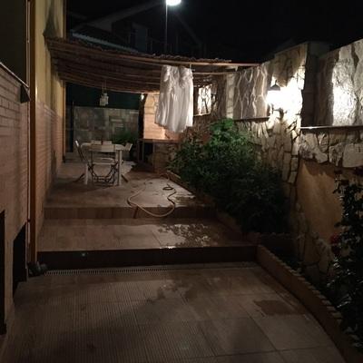 Acondicionamiento de patio