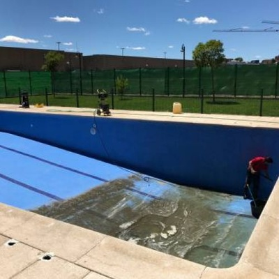 Limpieza piscina
