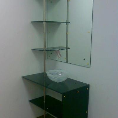 mobiliario aluminio vidrio