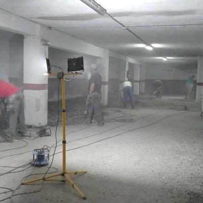 Suelo de garajes