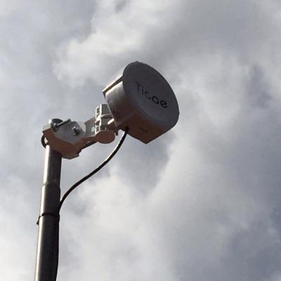 Antena cliente internet guifinet