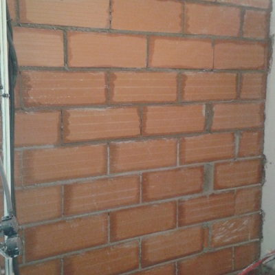 Hacer pared