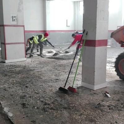 Rehabilitación suelos de garaje