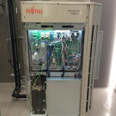 Unidad exterior vrf Fujitsu.