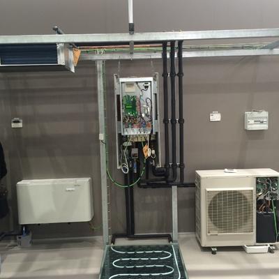 Sistema aquathermic de Fujitsu.