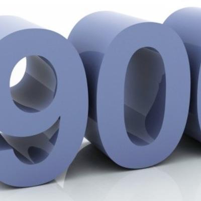 900 me gusta en Facebook