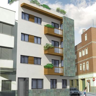 Promocion de 4 viviendas en entremedianeras