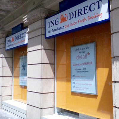 Imagen corporativa exterior ING Direct