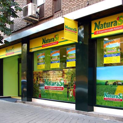 Imagen corporativa exterior NaturaSi