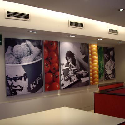 Imagen corporativa interior KFC