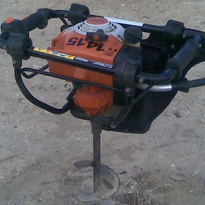 Ahoyador mecánico.